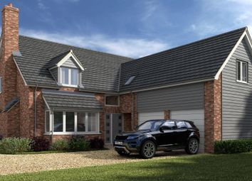 Thumbnail 4 bed detached house for sale in King Edward Road, Leiston