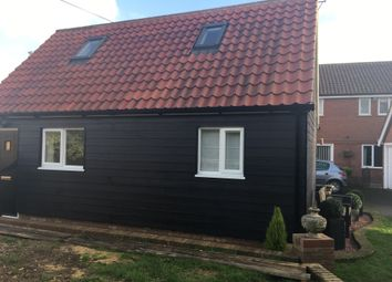 Thumbnail 2 bedroom detached house to rent in Canhams Road, Great Cornard, Sudbury, Suffolk.
