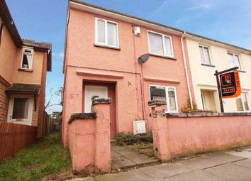 Thumbnail 3 bed end terrace house for sale in Leopold Road, Ipswich