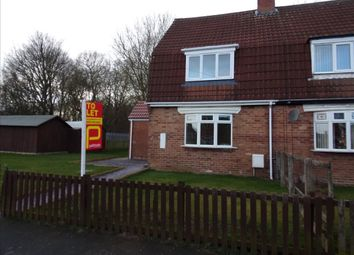 Thumbnail 2 bed semi-detached house to rent in Kings Road, Wingate