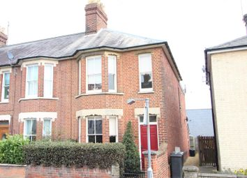 Thumbnail 3 bed end terrace house for sale in Bury Road, Stowmarket