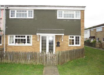 Thumbnail 4 bed end terrace house for sale in Ripon Road, Stevenage