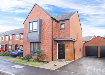 Thumbnail 3 bed detached house for sale in Opal Way, Bishops Cleeve, Cheltenham