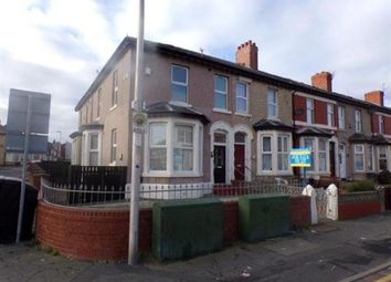 Thumbnail 2 bedroom end terrace house for sale in Egerton Road, Blackpool