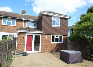 Thumbnail 4 bed semi-detached house for sale in Cuckmere Crescent, Gossops Green, Crawley