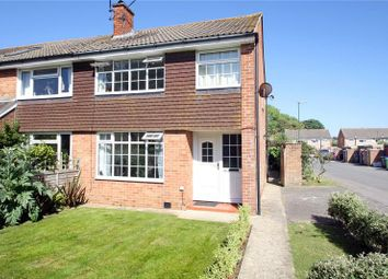 Thumbnail 3 bed semi-detached house for sale in Chanctonbury Road, Rustington, Littlehampton