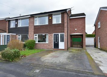 Thumbnail 4 bed semi-detached house for sale in Fielding Avenue, Poynton, Stockport, Cheshire