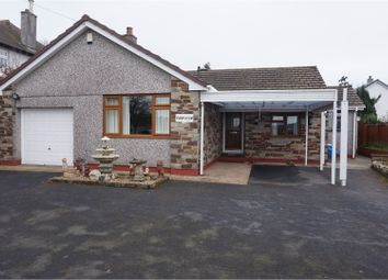 Thumbnail 3 bed detached bungalow for sale in Saltash Road, Callington