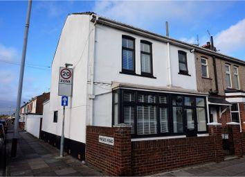 Thumbnail 3 bed end terrace house for sale in Locksway Road, Southsea