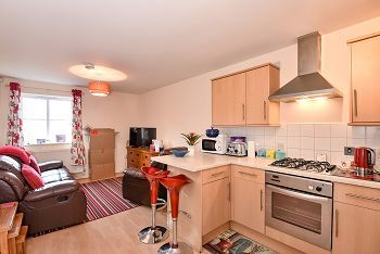 Thumbnail 2 bed flat to rent in Palomino Place, Westbury, Wiltshire