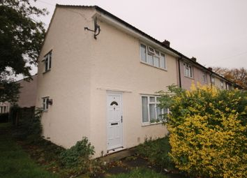 Thumbnail 2 bed end terrace house to rent in Windmill Close, Goldington