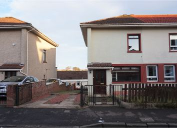 Thumbnail 2 bed end terrace house for sale in Mavis Road, Greenock