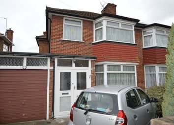 Thumbnail 3 bed semi-detached house for sale in Whitby Gardens, Kingsbury