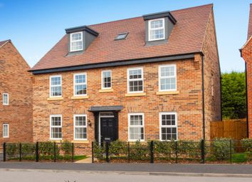 """Thumbnail 5 bed detached house for sale in """"Buckingham"""" at Welland Close, Burton-On-Trent"""