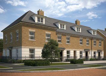 "Thumbnail 4 bedroom end terrace house for sale in ""Wellington End"" at Southfleet Road, Ebbsfleet"