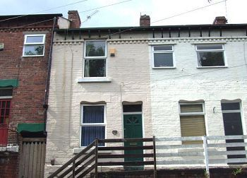 Thumbnail 2 bed terraced house to rent in Oxford Street, Crookesmoore, Sheffield