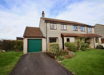 Thumbnail 2 bed semi-detached house for sale in Park Close, Barton St. David, Somerton