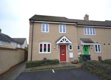 Thumbnail 3 bedroom terraced house for sale in Costessey, Norwich