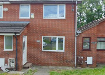 Thumbnail 3 bed semi-detached house to rent in Colclough Close, New Moston, Manchester