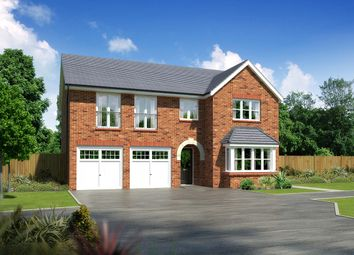 """Thumbnail 5 bedroom detached house for sale in """"Melton"""" at Moorfields, Willaston, Nantwich"""