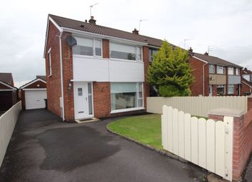 Thumbnail 3 bed semi-detached house for sale in Ravelston Park, Newtownabbey