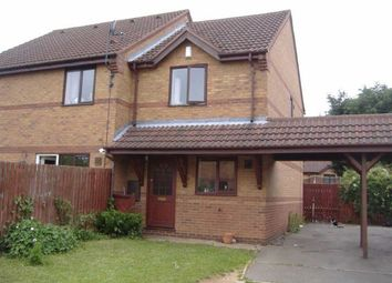 Thumbnail 2 bed end terrace house for sale in Nansen Close, Daventry