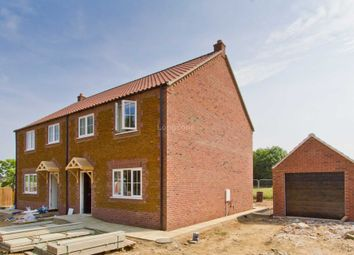 Thumbnail 3 bedroom semi-detached house for sale in Station Road, East Winch, King's Lynn