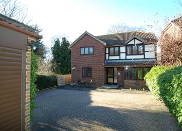 Thumbnail 4 bed detached house for sale in Blackberry Close, Clanfield, Waterlooville