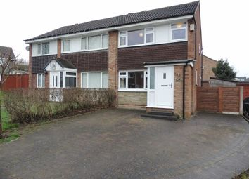 Thumbnail 3 bedroom semi-detached house for sale in Peregrine Road, Offerton, Stockport