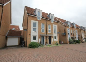 Thumbnail 3 bed terraced house for sale in Poethlyn Drive, Costessey, Norwich