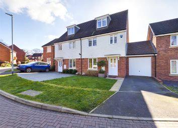 Fieldfare Drive, Maidstone ME15. 4 bed semi-detached house for sale