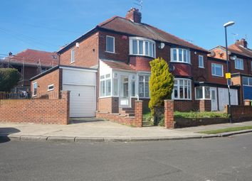 Thumbnail 3 bed semi-detached house for sale in Rydal Mount, Sunderland