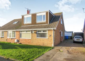Thumbnail 4 bedroom semi-detached house for sale in Cawood Crescent, Skirlaugh, Hull