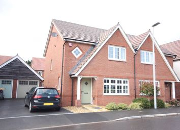 Thumbnail 3 bed semi-detached house for sale in Robin Way, Kingsteignton, Newton Abbot