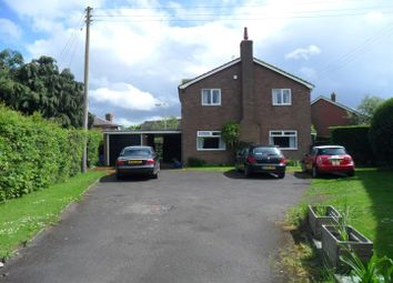 Thumbnail 4 bed detached house for sale in Ruyton Road, Baschurch, Shrewsbury