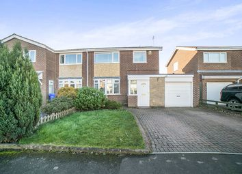 Thumbnail 3 bed semi-detached house for sale in Ryde Place, Cramlington