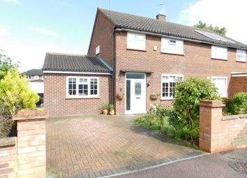 Thumbnail 4 bed semi-detached house for sale in Whitecrofts, Stotfold, Herts