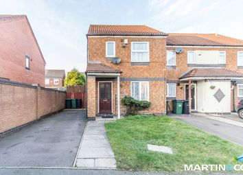 Thumbnail 2 bed end terrace house for sale in Hawkins Croft, Tipton