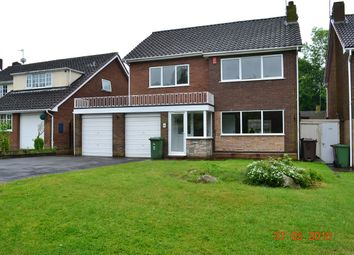 Thumbnail 4 bed detached house to rent in Beacon Road, Walsall