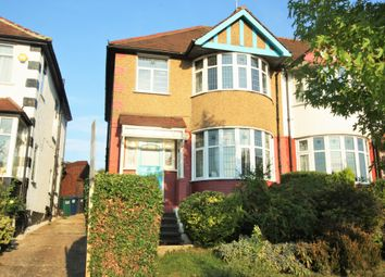 Thumbnail 3 bed semi-detached house for sale in Southfields, Hendon