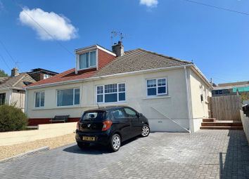 Thumbnail 2 bed semi-detached bungalow for sale in Coleridge Close, Cefn Glas, Bridgend
