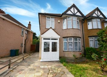 Thumbnail 3 bed semi-detached house to rent in Wood End Avenue, Harrow