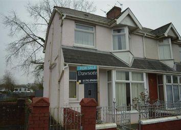 Thumbnail 3 bedroom end terrace house for sale in St Michael's Avenue, Swansea