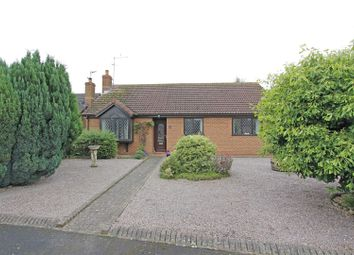 Thumbnail 3 bed detached bungalow for sale in St. Gilberts Close, Pointon, Sleaford
