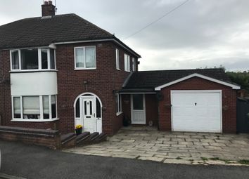 Thumbnail 3 bed semi-detached house for sale in Ampthill Place, Hanford, Stoke-On-Trent