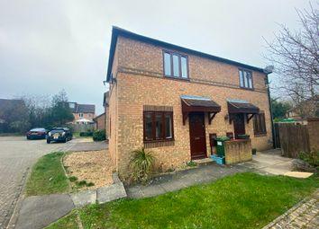 Thumbnail 1 bed semi-detached house to rent in Rillington Gardens, Emerson Valley, Milton Keynes
