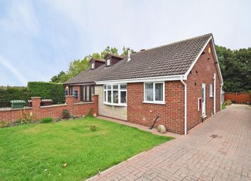 Thumbnail 2 bed semi-detached bungalow for sale in Hollingthorpe Avenue, Hall Green, Wakefield