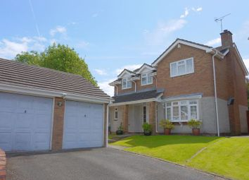 Thumbnail 4 bedroom detached house for sale in Hexham Close, Toothill, Swindon