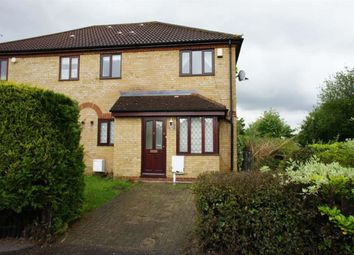 Thumbnail 1 bed end terrace house to rent in Highgate Over, Walnut Tree, Milton Keynes