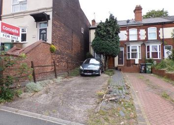 Thumbnail 2 bed end terrace house for sale in Sandwell Street, Walsall, West Midlands